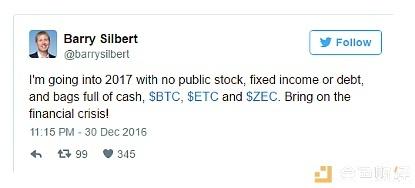 """币圈""""巴菲特"""" 揭秘隐形已久的世界第一区块链基金"""